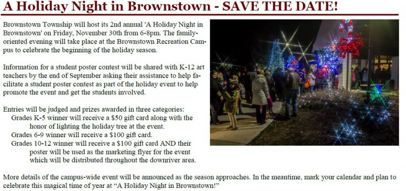 A Holiday Night @ Brownstown Community Center | Brownstown Charter Township | Michigan | United States