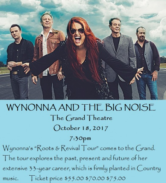 Wynonna And The Big Noise Frankfort Ky Music Events