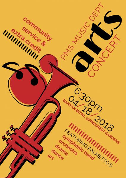 PMS Music Department Arts Concert
