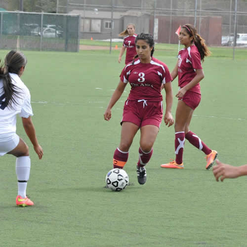 Women's Soccer De Anza at Ohlone