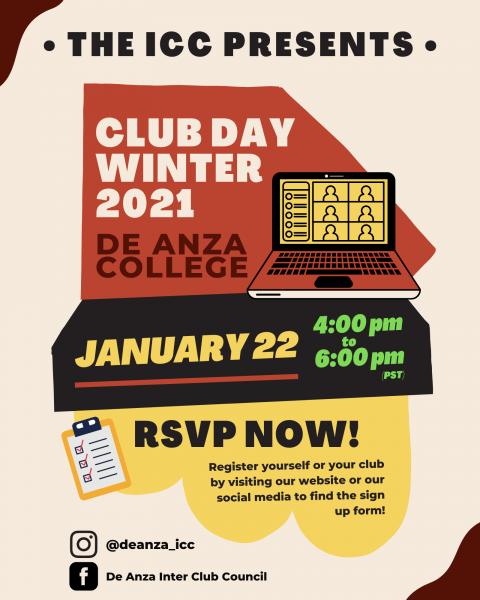 Club Day Winter 2021