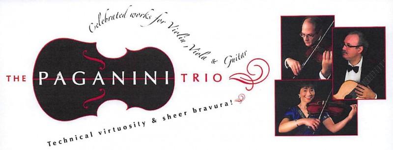 Paganini Trio: Benefit Concert