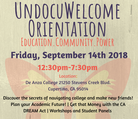 UndocuWelcome Orientation
