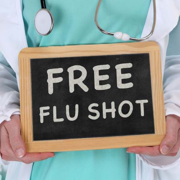 Drive-Through Flu Vaccine Clinic