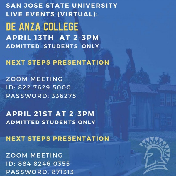 Transfer Representative Presentation- San Jose State University