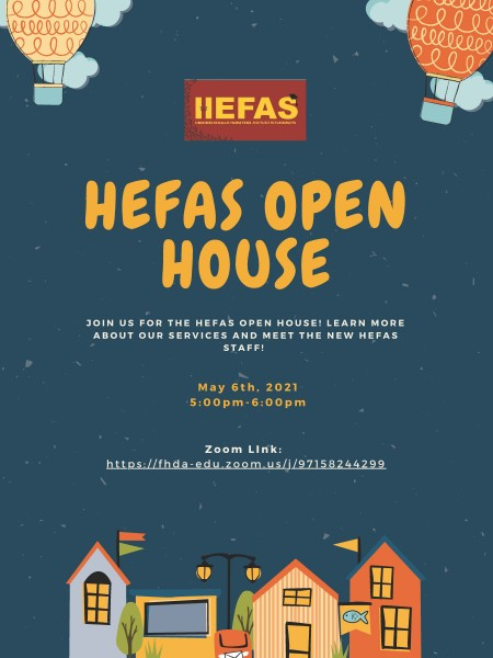 HEFAS Open House