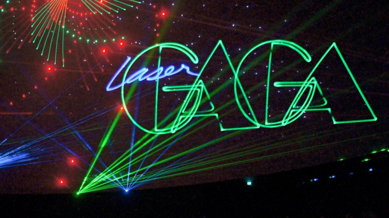 Laser Lady Gaga