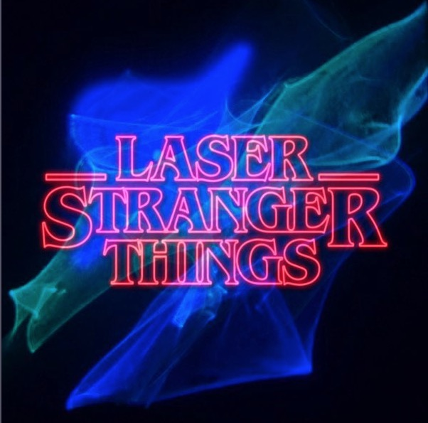 Laser Stranger Things