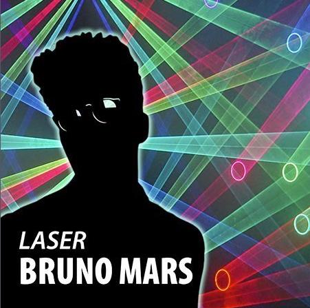 Laser Bruno Mars