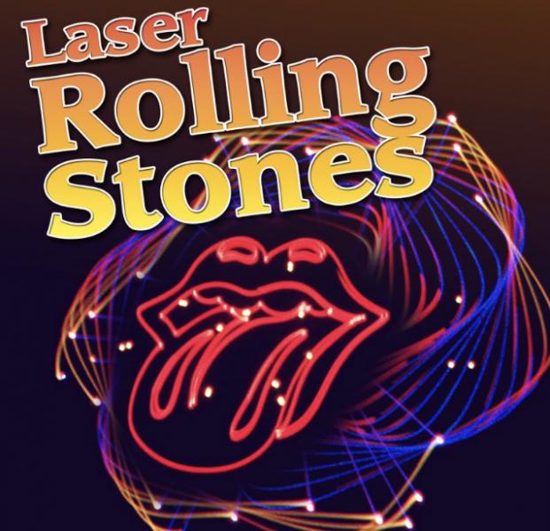 Laser Rolling Stones